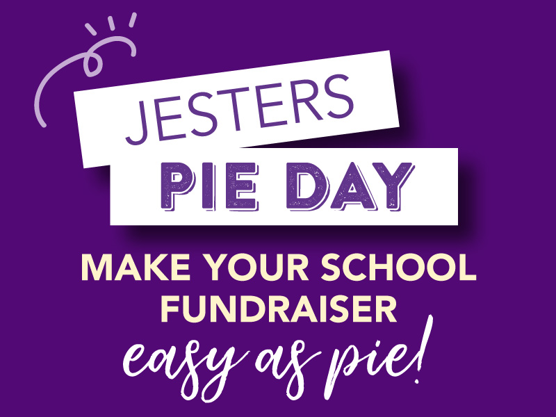 Jesters Fundraising Pie Day